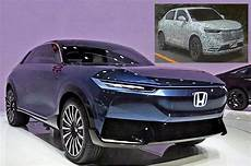 next gen honda hr v coming in 2021 previewed at beijing motor show autocar india