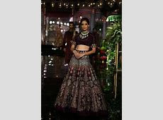 Latest Bridal Lehenga Designs By Manish Malhotra   HijabiWorld
