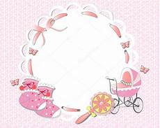 pink baby frame stock vector 169 laifalight 12176707