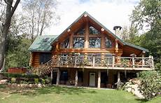 log home with a view square log home designs find house plans rustic and elegant exteriors