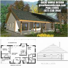 small icf house plans icf bungalow house plan 2095 2 bed 2 bath small house