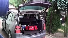 golf sportsvan elektrische heckklappe nachrüsten vw touran 2005 rear lid automatic open and touran