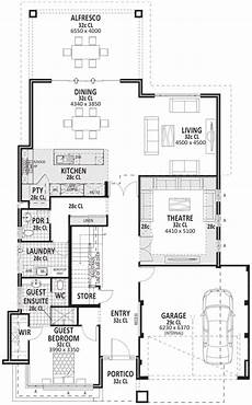 4 bedroom double storey house plans luxe 4 bedroom 2storey home with guest bedroom perth