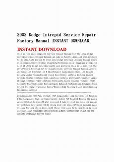 free car repair manuals 2002 dodge intrepid navigation system 2002 dodge intrepid service repair factory manual instant download by hfgsbefhnsebb issuu