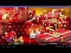 merry christmas live wallpaper youtube
