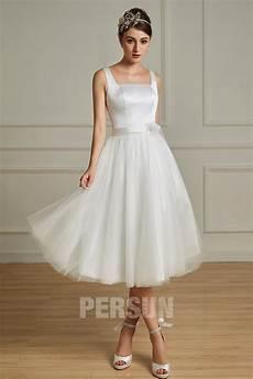 robe pour mariage civil chic ulrika robe de mari 233 e r 233 tro chic en satin tulle pour