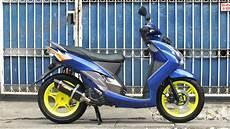 Modif Mio Soul Velg Lebar by Koleksi Modifikasi Motor Matic Ban Lebar Terbaru Pojok