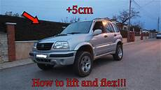 how to lift and flex suzuki grand vitara 2 0