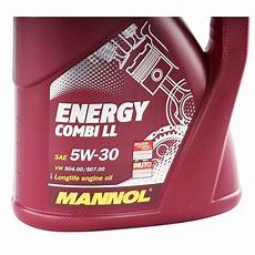 mannol energy combi ll 5w 30 api sn cf 5 liter autoteile