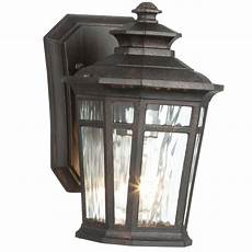 home decorators collection waterton 1 light dark ridge bronze outdoor wall lantern 23121 the