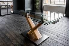 esstisch aus glas kasper wohndesign esstisch aus glas 160cm ausziehbar 187 gino