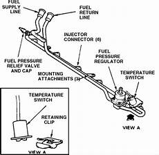 ford truck fuel system diagram 1988 f250 diagram for the fuel line system 6cyl tanks to injectors