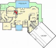 lake house plans for sloping lots plan 35394gh sloping lot home plan with great rear facing