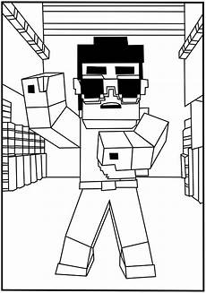 top 20 minecraft printable coloring pages printable