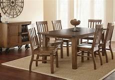hailee oak extendable rectangular dining room from steve silver ha500t coleman