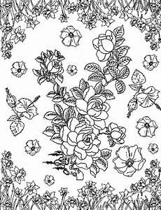 Malvorlage Erwachsene Blumen Malvorlagen Mandala Coloring And Malvorlagan