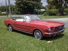 1965 FORD MUSTANG CONVERTIBLE  125853