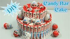 torte aus kinderriegeln bar cake quot torte quot aus schokoriegeln s 252 223 igkeiten
