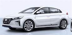 2017 Hyundai Ioniq In Hybrid And Electric Unveiled