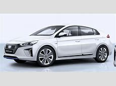 2017 Hyundai Ioniq plug in hybrid and Electric unveiled