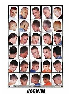 05wm large format barber poster w 30 haircuts 978458632565 ebay
