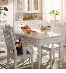 esstisch shabby weiß landhaus tisch 140x200 cm 2 schubladen farbe alt wei 223