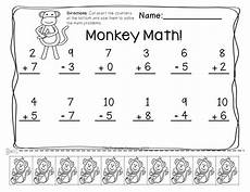 free printable mixed addition and subtraction worksheets for kindergarten 10517 pin on tpt math lessons