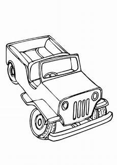 Bilder Zum Ausmalen Jeep Ausmalbilder Armee Jeep Transport Malvorlagen