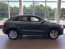 Side View Of The 2018 Audi Q3 In Daytona Grey Pearl