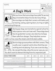 3rd grade fluency passages reading comprehension passages and questions bundle