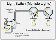 How To Wire A Switch With Lights With Images