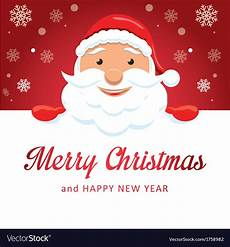 merry christmas santa claus royalty free vector image