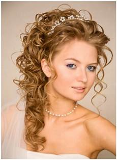 Hair Style Wedding Up Tiara Do Half Curly Hilighted half up half wedding hairstyles wedding hairstyles