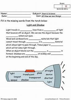 grade 5 science worksheets light 12290 primaryleap co uk light and shadow worksheet science worksheets light science 4th grade