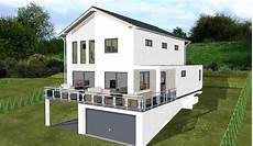 planungsbeisiel einfamilienhaus garage im keller