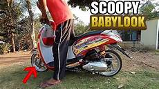 Modifikasi Scoopy 2019 by Modifikasi Scoopy Babylook Harian Review Scoopy Babylook