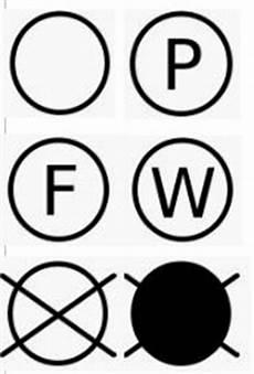 zeichen für chemische reinigung pflegezeichen f 252 r die w 228 sche und ihre bedeutung