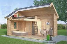 abri de jardin habitable avec mezzanine cabanes and co