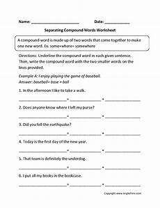 compound nouns worksheet grade 2 oplandec com