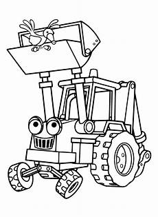 Ausmalbilder Bagger Traktor Ausmalbilder Bob Der Baumeister Baggi 365 Malvorlage Alle