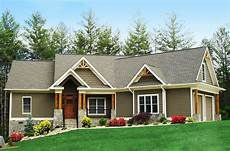 ranch craftsman house plans craftsman inspired ranch home plan 15883ge