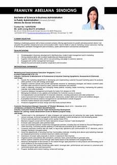 business administration resume sles sle resumes