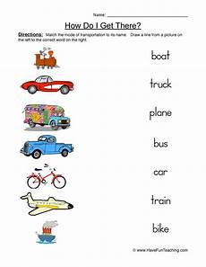 transportation worksheets esl 15184 transportation worksheets teaching