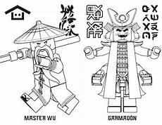 ninjago lord garmadon coloring pages at getdrawings free