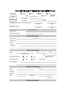maryland abuse and neglect intake form download fillable pdf templateroller