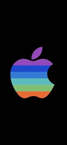Black Apple Logo Wallpaper Iphone X