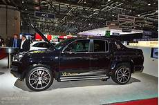 Vw Amarok V8 - v8 amarok from mtm hits geneva live photos autoevolution