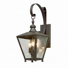 troy lighting mumford 3 light bronze outdoor wall sconce b5192 the home depot