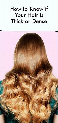 How To Determine Hair Thickness how to determine if you really thick hair instyle