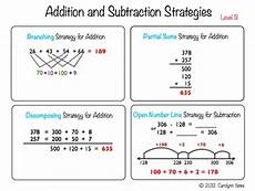 mental math worksheets addition and subtraction mental math strategies for by growing in second grade